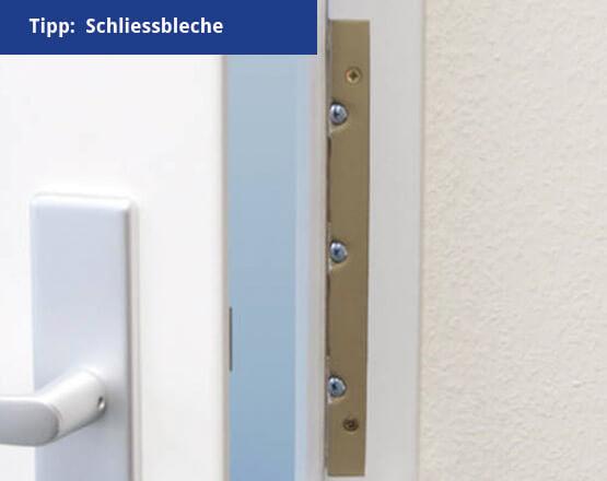 Gröger Sicherheitshaus Schliessbleche