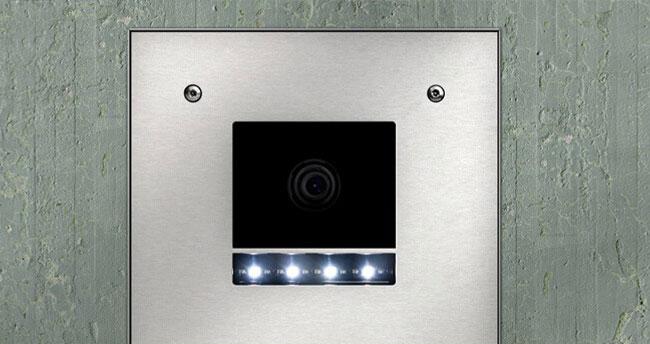 Gröger Sicherheitshaus Klingel und Sprechanlagen Kamera