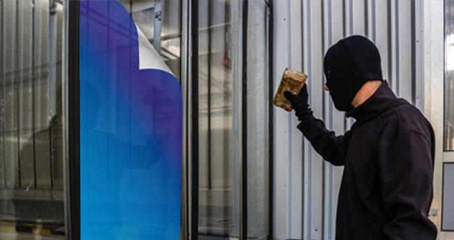 Gröger Sicherheitshaus Sicherheitsfolien Einbrecher