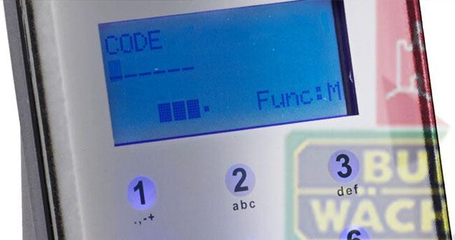Gröger Sicherheitshaus Code Türschlosselektronik