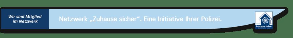 Gröger Sicherheitshaus Zuhause sicher Banner